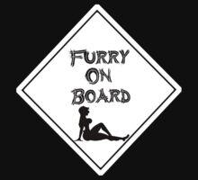 Furries on Board T-Shirt