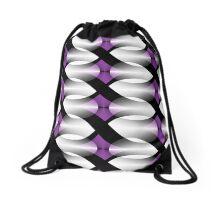 Infinity - Purple seamless Drawstring Bag