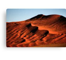 Detailed Dunes, Namibia  Canvas Print