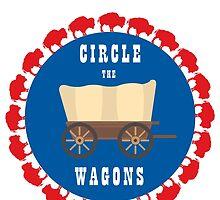 Circle the Wagons - Buffalo Bills by SenorRickyBobby