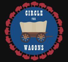 Circle the Wagons - Buffalo Bills Baby Tee