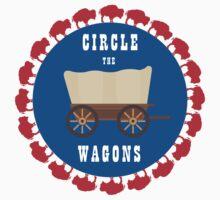 Circle the Wagons - Buffalo Bills Kids Clothes