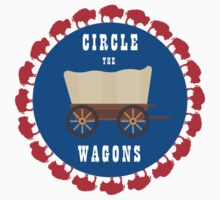 Circle the Wagons - Buffalo Bills Kids Tee