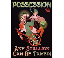 BioShock Infinite – Possession Poster (Stallion) Photographic Print