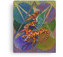 Gabrielle - Dragon Canvas Print