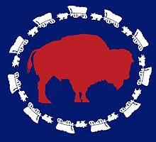 Buffalo Bills - Circle the Wagon by SenorRickyBobby