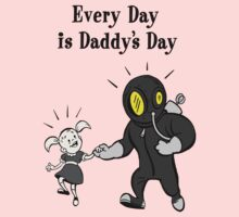 BioShock – Every Day is Daddy's Day Poster (Black) Kids Clothes