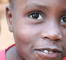 Young Girl in Kampala Slums by maddy31