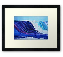 Interview With A Wave Framed Print