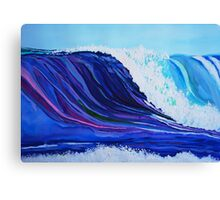 Interview With A Wave Canvas Print