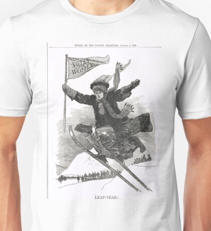 Votes for Women Punch cartoon 1908 Unisex T-Shirt