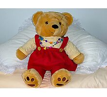Mrs. Bear called Betsy Photographic Print