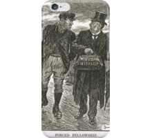 Socialism & Old Liberalism Punch 1909 iPhone Case/Skin