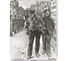 Bernard Partridge Suffragette Punch Cartoon 1908 iPad Case/Skin