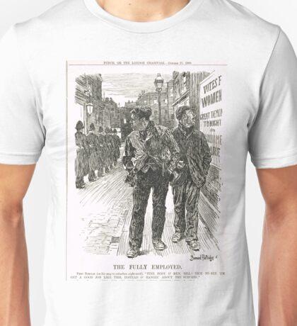 Bernard Partridge Suffragette Punch Cartoon 1908 Unisex T-Shirt