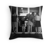 The Peepers Throw Pillow
