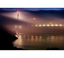 Golden Gate Fog Photographic Print