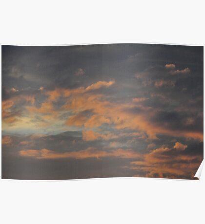 sky struck Poster