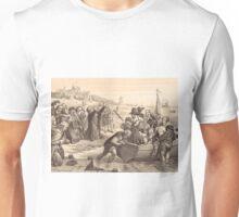 Departure of Pilgrim Fathers Delft Holland 1620 Unisex T-Shirt