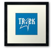 TREK Framed Print