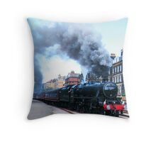 This Train is Bound For . . . . . . Throw Pillow