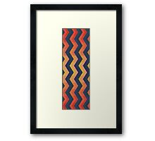 Seamless Psychedelic Framed Print