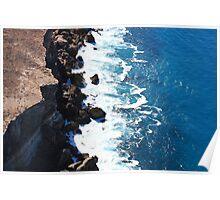 Bunda Cliffs. Nullarbor NP Sth Australia Poster