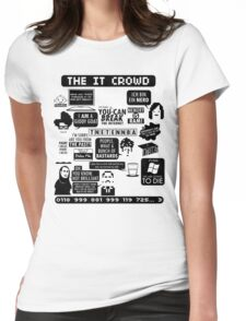 The IT Crowd Quotes Womens Fitted T-Shirt