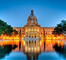 Legislature at Night by jamesliu