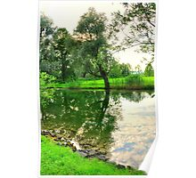 River Loisach Germany Poster