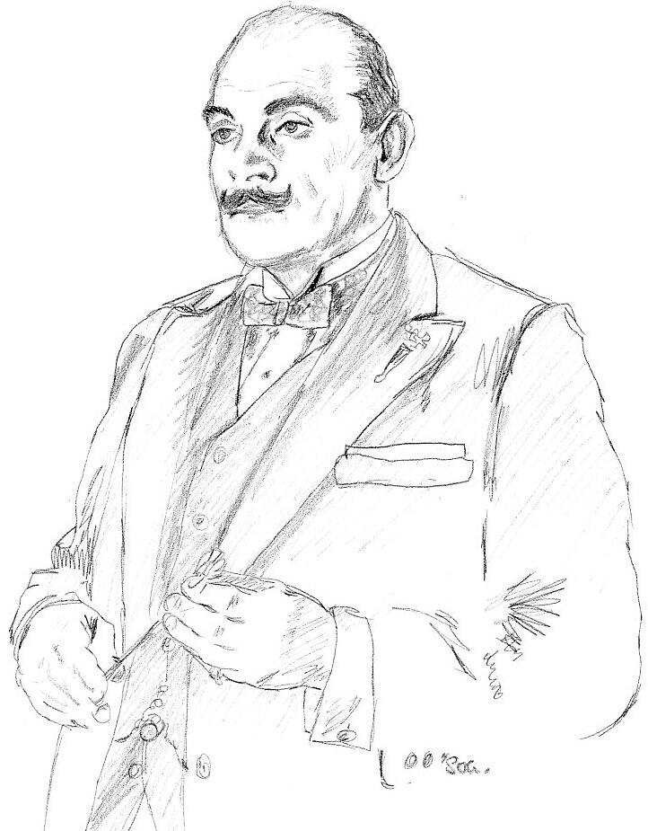 Agatha Christies Hercule Poirot by Wearde