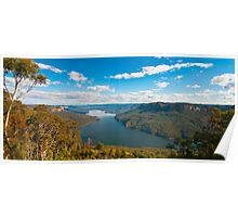 Stunning View from Burragorang Lookout  Poster