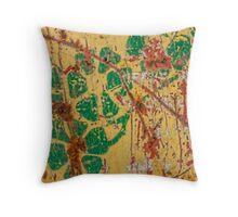 Blossom Garden Throw Pillow