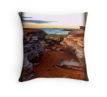 For the Love of Pindan Throw Pillow