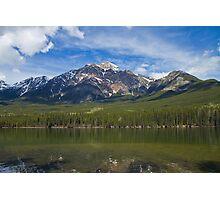 Pyramid Mountain Photographic Print