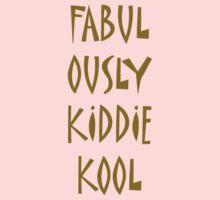 Fabulously Kiddie-Kool Kids Clothes