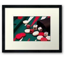 Games up! Framed Print