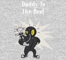 BioShock – Daddy is the Best Poster (White) by PonchTheOwl