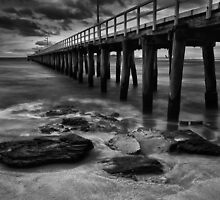 Along side The Pier - Pt Lonsdale Victoria by Graeme Buckland
