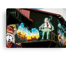 Icelandic Graffiti Canvas Print