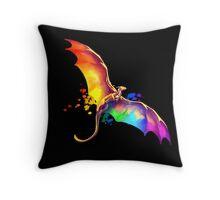 Pride Dragon Throw Pillow