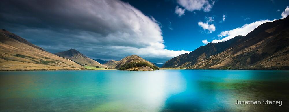 ∞ Moke Lake ∞  - The Emerald Lake - by Jonathan Stacey