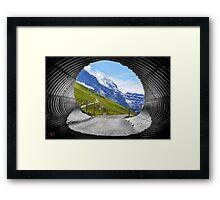Silberhorn Framed Print