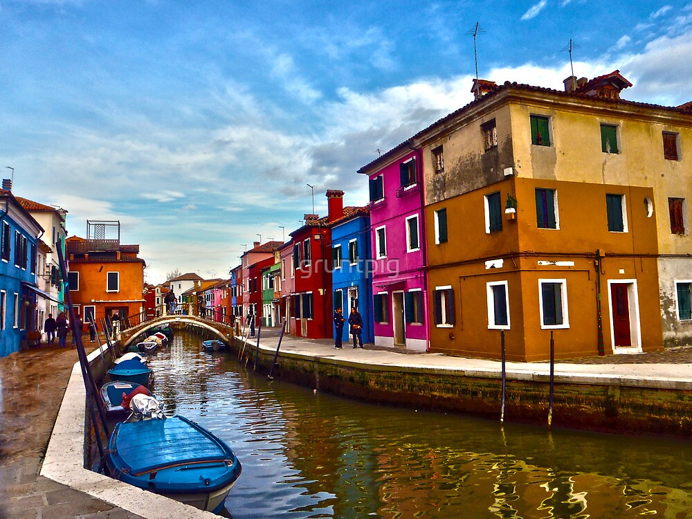 colour of venice by gruntpig