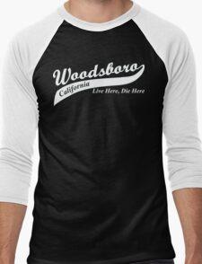 Woodsboro, CA Men's Baseball ¾ T-Shirt