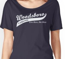 Woodsboro, CA Women's Relaxed Fit T-Shirt