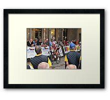 Tour of Tuscany 2009 Framed Print