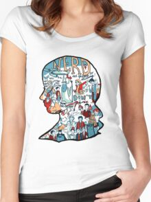 Nerd Girls: Set Phasers to Stunning Women's Fitted Scoop T-Shirt