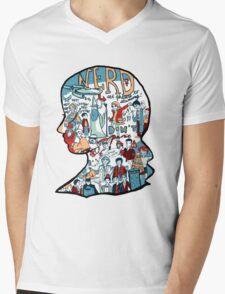 Nerd Girls: Set Phasers to Stunning Mens V-Neck T-Shirt