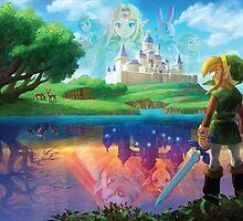 The Legend of Zelda: A Link Between Worlds by MegaMooseMan